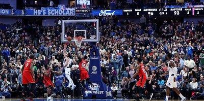 Mavericks, Raptors'ın serisini bitirdi