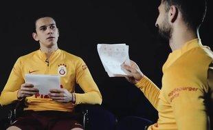 Galatasaray'da Emre Akbaba ve Taylan Antalyalı '1v1 challenge' programında karşı karşıya geldi!