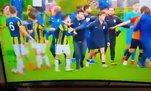 Fenerbahçe - Galatasaray derbisinde kavga!