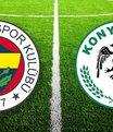 Fenerbahçe Konyaspor maçı ne zaman saat kaçta? Muhtemeler 11'ler...