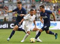 Real Madrid - Tottenham maçından kareler