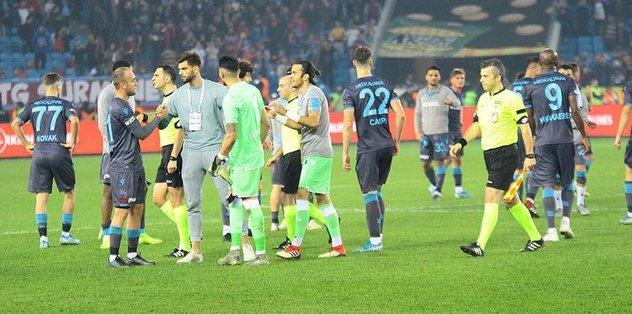 Trabzonspor'dan galibiyet pozu!