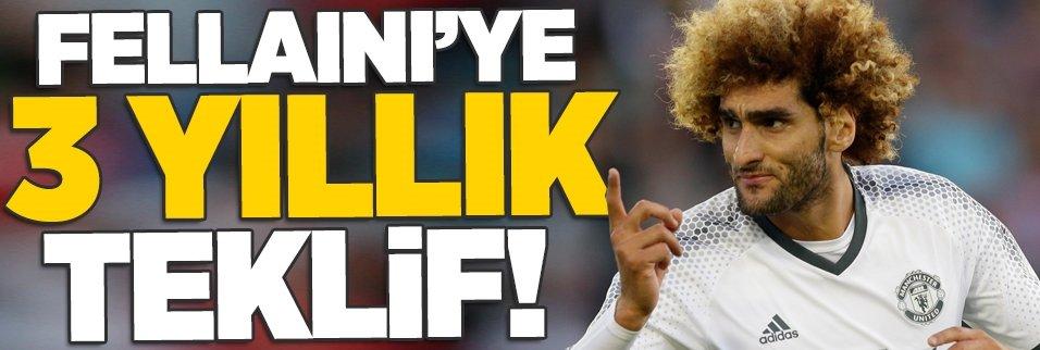 Fellaini'ye 3 yıllık teklif!