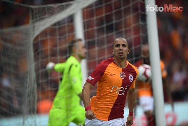 Galatasaray'da Feghouli gerçeği ortaya çıktı! Fenerbahçe...