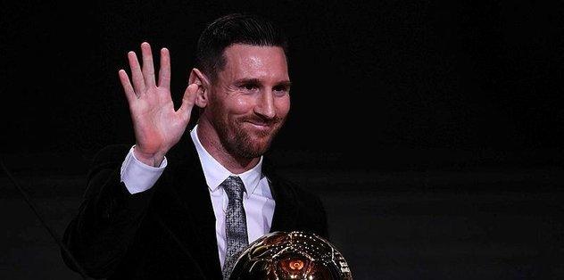 Ballon d'Or 6. kez Messi'nin