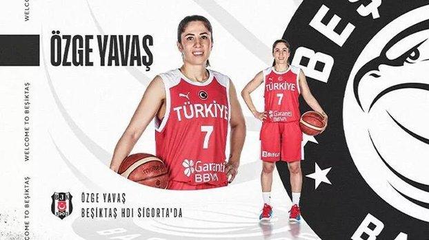 Beşiktaş Kadın Basketbol Takımı milli oyuncu Özge Yavaş'ı kadrosuna kattı