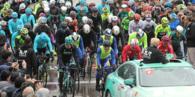 Cumhurbaşkanlığı Türkiye Bisiklet Turu'nun 5'inci etabı yağmur altında başladı