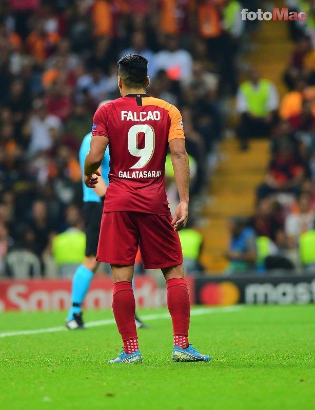 Fatih Terim Falcao'dan rahatsız! İşte Galatasaray'da yaşananların perde arkası