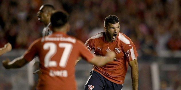 Independiente, Flamengo'yu ağırladı