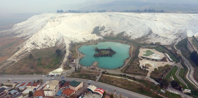 Pamukkale Kocaçukur'da temizlik seferberliği