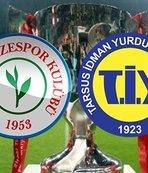 Çaykur Rizespor - Tarsus İdman Yurdu | CANLI