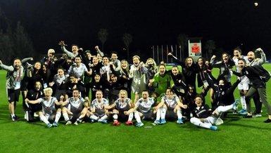 Son dakika spor haberi: Beşiktaş finalde! Turkcell Kadın Futbol Ligi...