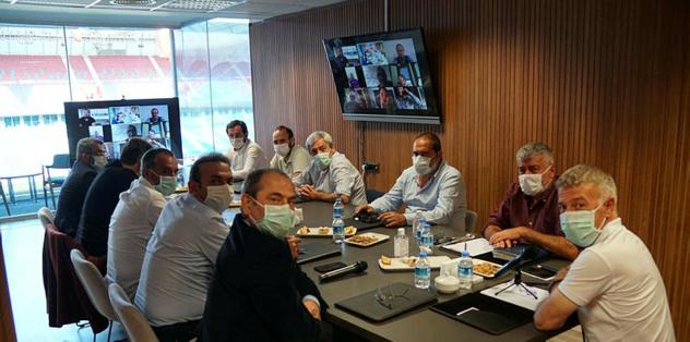 Trabzonspor yönetiminden online toplantı! - öne çıkan -