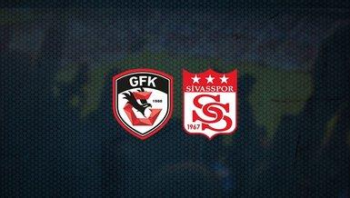 Gaziantep FK - Sivasspor maçı ne zaman, saat kaçta ve hangi kanalda canlı yayınlanacak?   Süper Lig