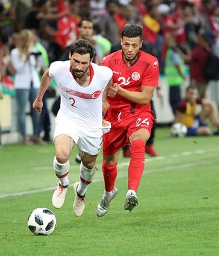 Tunuslu futbolculardan oruç açma taktiği