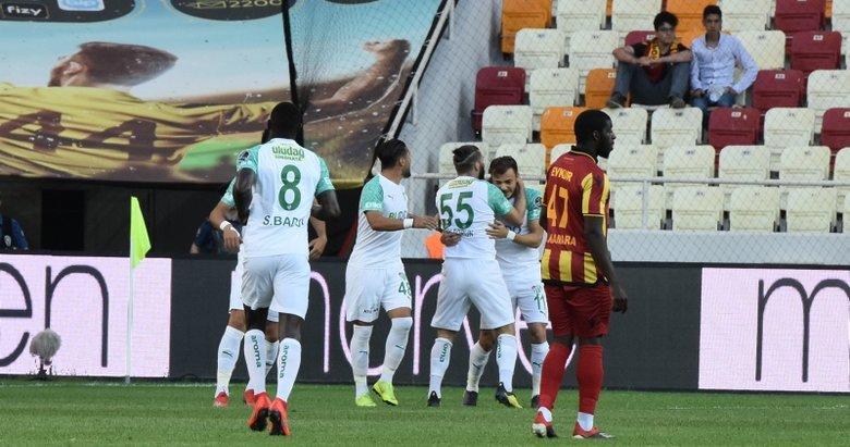 Yeni Malatyaspor - Bursaspor maçından kareler