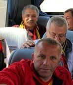 Erol Bedir, Sivasspor deplasmanına taraftar otobüsüyle gitti