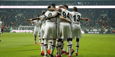 Beşiktaş galibiyet serisi peşinde