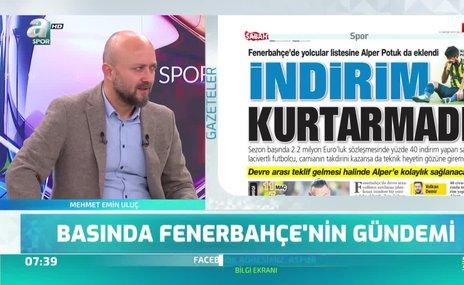 Fenerbahçe'de Alper Potuk gelişmesi