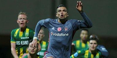 Beşiktaş'tan sakatlık açıklaması: Pepe ve Tosic...