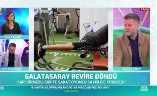 Volkan Demir: Falcao ilk yarının son 2-3 maçına yetişirse yetişecek