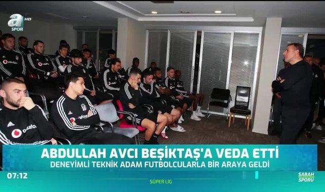 Abdullah Avcı Beşiktaş'a veda etti