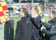 Göztepe - Beşiktaş maçında tek tek gözaltı yaptırdı