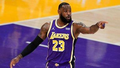 NBA'de Lakers LeBron James ile kazandı!