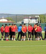 Göztepede  Yeni Malatyaspor hazırlıkları