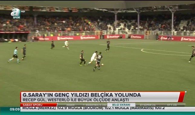 Galatasaray'ın genç yıldızı Belçika yolunda | Video haber