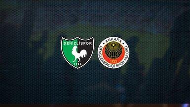 Denizlispor - Gençlerbirliği maçı ne zaman, saat kaçta ve hangi kanalda canlı yayınlanacak? | Süper Lig