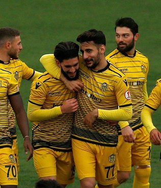 Yeni Malatyaspor deplasmanda turladı Etimesgut Belediyespor 0-2 Yeni Malatyaspor ( MAÇ ÖZETİ)