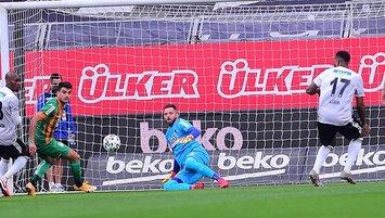 Son dakika spor haberi: Beşiktaş - Alanyaspor maçına damga vuran kare! Marafona...
