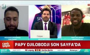 Papy Djilobodji: Bir futbolcunun istediği her şey Süper Lig'de mevcut