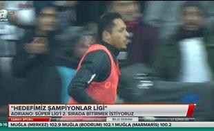Adriano: Beşiktaş ile görüşüyoruz