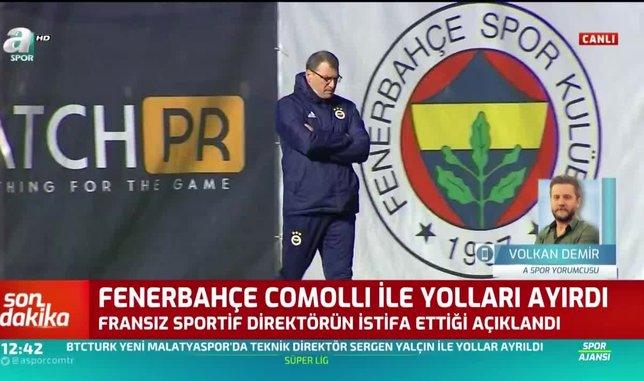 Volkan Demir: Comolli istifa etmemiş ettirilmiştir