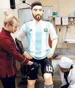 Lionel Messi'ye özel pasta!