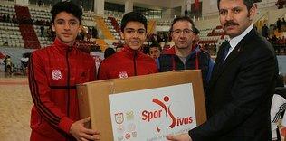 (Görüntülü) Geleceğin sporcuları 'Spor Sivas' projesiyle yetişecek