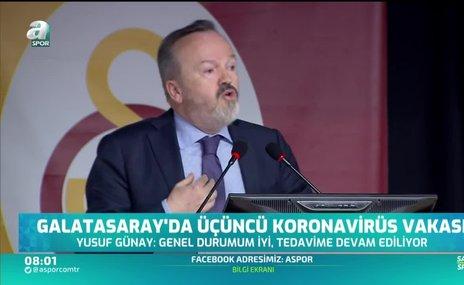Galatasaray'da üçüncü koronavirüs vakası