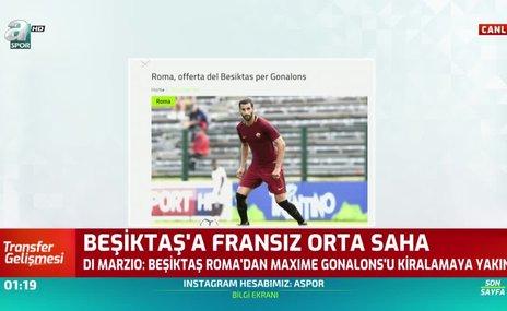 Beşiktaş'tan Gonalons hamlesi!
