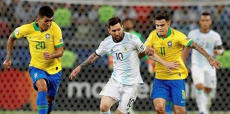 Messi'ye hüsran Brezilya finalde
