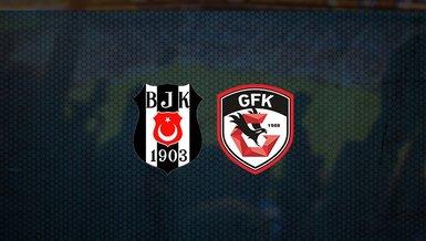 Hedef zirve! Beşiktaş - Gaziantep FK maçı ne zaman, saat kaçta ve hangi kanalda canlı yayınlanacak? | Süper Lig
