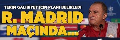 İşte Terim'in Madrid planı! 'Real Madrid'e karşı...'