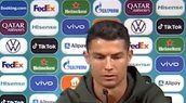 """Cristiano Ronaldo'dan Macaristan Portekiz maçı öncesi kola tepkisi! """"Su için"""""""