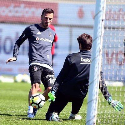 Beşiktaş, Göztepe hazırlıklarını sürdürdü