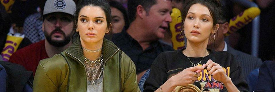 Kendall Jenner'a NBA taraftarından ilginç tepki!