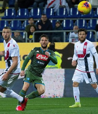 Cagliari 0-1 Napoli   MAÇ SONUCU