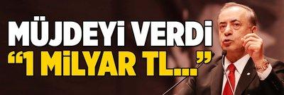 """Mustafa Cengiz'den büyük müjde: """"1 milyar TL..."""""""
