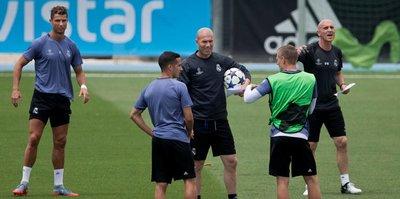 """Real Madrid ve Zidane """"ilk"""" peşinde"""