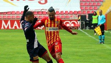Kayserispor Antalyaspor 0-1 (MAÇ SONUCU - ÖZET)